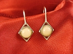 Kimberwick  Sterling Silver Wire Earrings 8mm