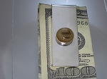 Sterling Silver Equinite Money Clip