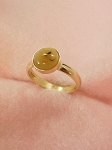 14 kt. Gold 8mm Equinite Ring (3mm Shank)