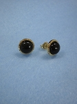 14 kt. Gold 8mm Equinite Post Earrings