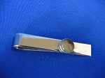 Sterling Silver Tie Bar w/ 8 mm