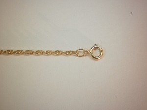 "14 kt. Gold Rope 18"" Chain 1.5 mm"